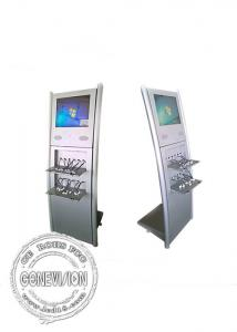 China 19 Inch 1280*1024 Infrared Kiosk Touch Screen With Mobile Phone Fast Charging Cables on sale