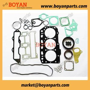 China Yanmar 3TNE88 3D88 Full Gasket Set Kit with Cylinder Head Gasket 129001-01340 on sale