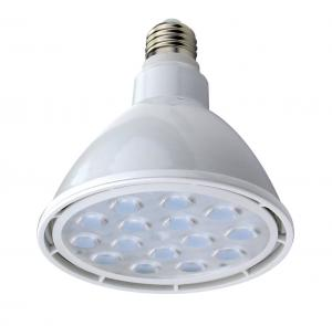 China Par38 LED Bulb Warm White 3500K , E27 LED Par38 15 Watt / Par38 LED Spotlight With White Housing on sale