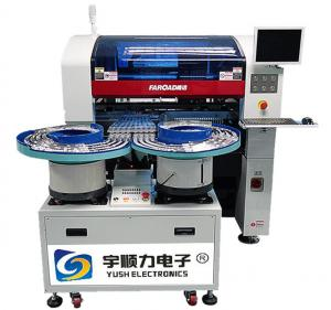 China 8 Nozzle SMT Pick And Place Machine Bowl And Slot Feeder For LED Lighting Products on sale