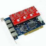 PCI Card Asterisk Card  ZA4P