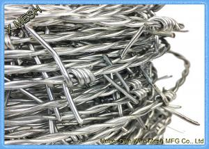 China Hot-Dipped Galvanized Barbed Wire for Airport Prison Security Fence on sale