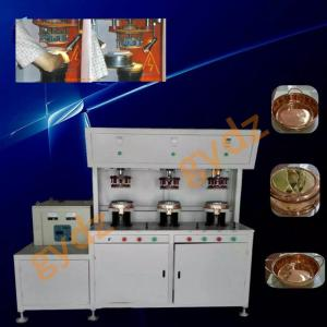 China Hot Sale Induction Brazing Welding Machine For preheating brass pot bottom on sale