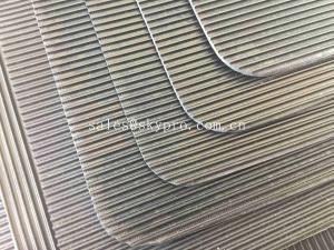 China Insertion Rubber Table Fine Strip Anti - Static Rubber Sheet Floor Mat Good Flexible Elastomeric on sale