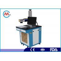 1064nm Laser wavelength Fiber Laser Marking Machine 20w with rotating system MAX laser source