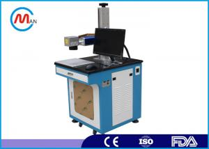 China 1064nm Laser wavelength Fiber Laser Marking Machine 20w with rotating system MAX laser source on sale