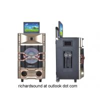 China professional Karaoke speaker system & active speaker with DVD player/party light/LCD screen on sale
