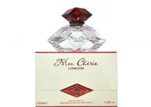 China Skin Care Crystal Perfume Mon Cherie Sweet Smell Perfume For Ladies on sale