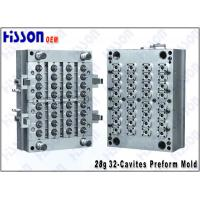 China Self-Lock 32 Cavity 28g 28MM PCO PET Preform Mould For Plastic Bottles on sale