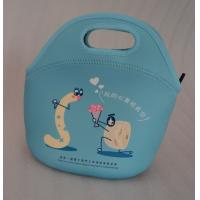 kids baby portable food fruit bag pouch,customized neoprene lunch purse tote bag box