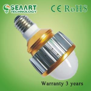 China Lower Consumption GU10 5W High Power LED Ball Bulbs For Supermarkets Lighting on sale