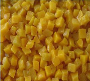 China Factory Price Premium New Crop Canned Yellow Peach Diced in Syrup on sale