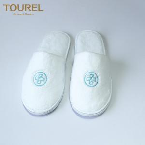 China wholesale hotel slippers wedding slippers hospital slipper with custom logo on sale