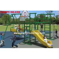 China Swing Set For Kids , Children Swing Sets With Galvanized Steel RKQ-5155A on sale