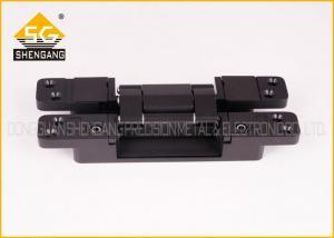 China Adjustable Concealed 3 Way Hinge Hardware 180 Degree 190X30X27mm on sale