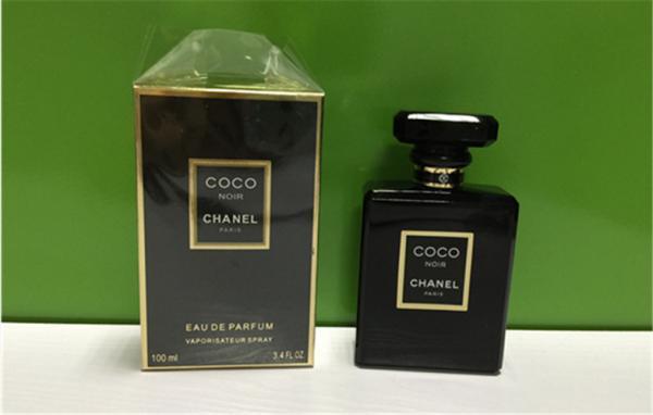 COCO Noir Ladies Branded Perfumes Fragrance Black Color Bottle 100ML Eau De  Images 74b3094077e