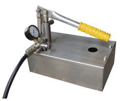 China 304/316/316L Stainless steel Hydrostatic test pump 16-250bar on sale