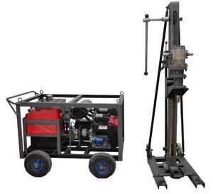 China Full hydraulic drilling rig, Geology exploration drilling rig on sale