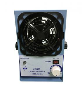 China Mini Electric Benchtop Air Ionizer , Ionized Air Blowers Static Control 110V on sale