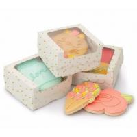 Dessert Cupcake Packaging Boxes / Paper Food Gift Boxes With Custom Design