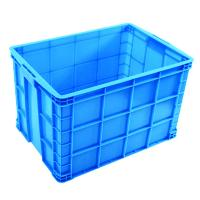 HDPE NEe food grade maerail Plastic Turnover Tox storage Container with llids