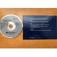 32/64 Bit Windows 7 Professional Upgrade Retail , Windows 7 Professional CD Activation