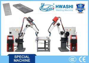 China Mig Aluminum Industrial Robotic Arc Welding Machine , 6 Axis Aluminum Chair Welding Robot on sale