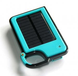 China Key Chain 1450mah Solar Power Bank for Iphone ,Samsung ,HTC ,Sony on sale
