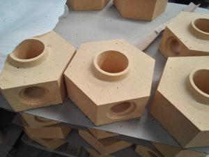 Quality Steel Ingot Casting Fire Clay Aluminum Bricks Composition Heat / Sound for sale