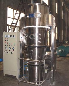 China Bottom Spraying Fluid Bed Granulation , Multi Purpose Processing Industrial Dryer Machine on sale
