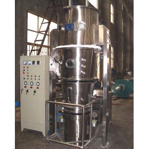 China Bottom Spraying Fluid Bed Granulation , Multi Purpose Processing Industrial Dryer Machine on sale