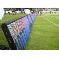 Outdoor Mobile LED Screens RGB Perimeter Advertising LED Display For Soccer Field