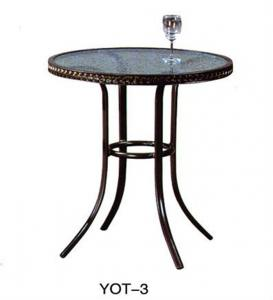 China Elegant outdoor cast aluminum garden furniture low price  (YOT-3) on sale