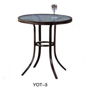 China Elegantoutdoorcastaluminumgardenfurniture low price (YOT-3) on sale