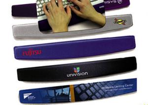 China Laptop Silicone Rubber Wrist Support Mouse Pad For Keyboard SGS Approval on sale