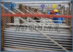 Air Cooled Steel Finned Tube Bundle Heat Exchanger For Boilers , Flue Gas Heat Exchanger