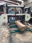 木を切るためのディーゼル/電気MJ1300横のバンド製材所機械