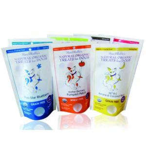 China Best Selling Custom Prined Plastic Stand Up Bag Pouch , Food Bag Grips on sale