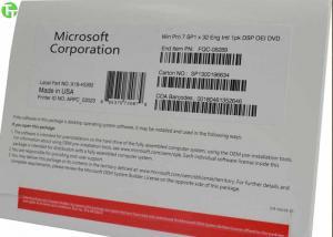 China Microsoft Software Windows 7 Professional OEM 64 bit SP1 Dell / HP / Lenovo on sale