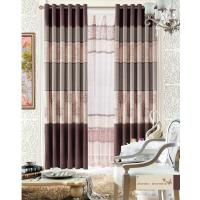 Custom Polyester Lace Home Textile Products Insulated Blackout Window Curtain