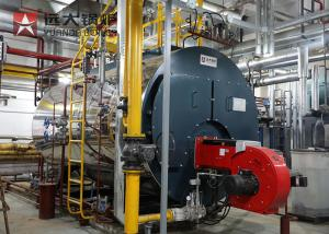 China Fire Tube Three Pass Gas Steam Boiler 4 ton/hour for Food Processing on sale