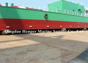 China Fishing Pneumatocyst Barge Ship Launching Airbags Natural Rubber Material on sale
