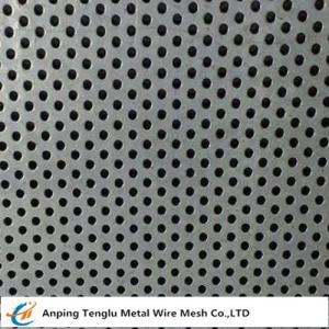 China Nickel 201 Perforated Metal Mesh|Polished Mesh By Nickel Sheet Punched to Various Hole Shape on sale