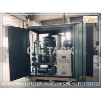 China Hydraulic Oil Purification Machine, Hydraulic Oil Cleaning System, Oil Purifier, Vacuum Oil Porcessing Unit TYA-100 on sale
