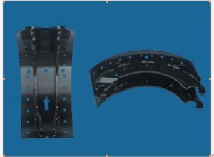 China Brake shoe/lining/kits for heavy-duty truck, trailer, etc. on sale