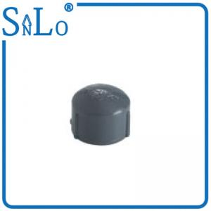 China Plumbing Supply Black Female Plastic Pipe End Caps For Agricultural And Garden Projects on sale