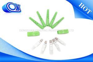 China Good Durability Fiber Optic Patch Cord SC APC Connectors PVC / LSZH Jacket on sale
