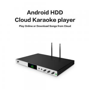 China Android home ktv jukebox karaoke player with songs cloud,select songs via intelligent phone on sale