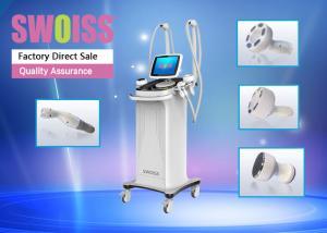 China Multifunctional Ultrasonic Weight Loss Machine , 3 RF Heads Vacuum Slimming Machine on sale