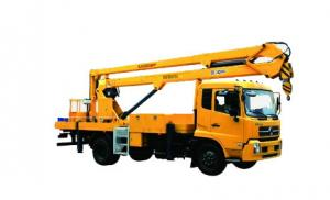 China Durable XCMG Basket Truck Mounted Lift , 5 Ton Aerial Platform Truck on sale